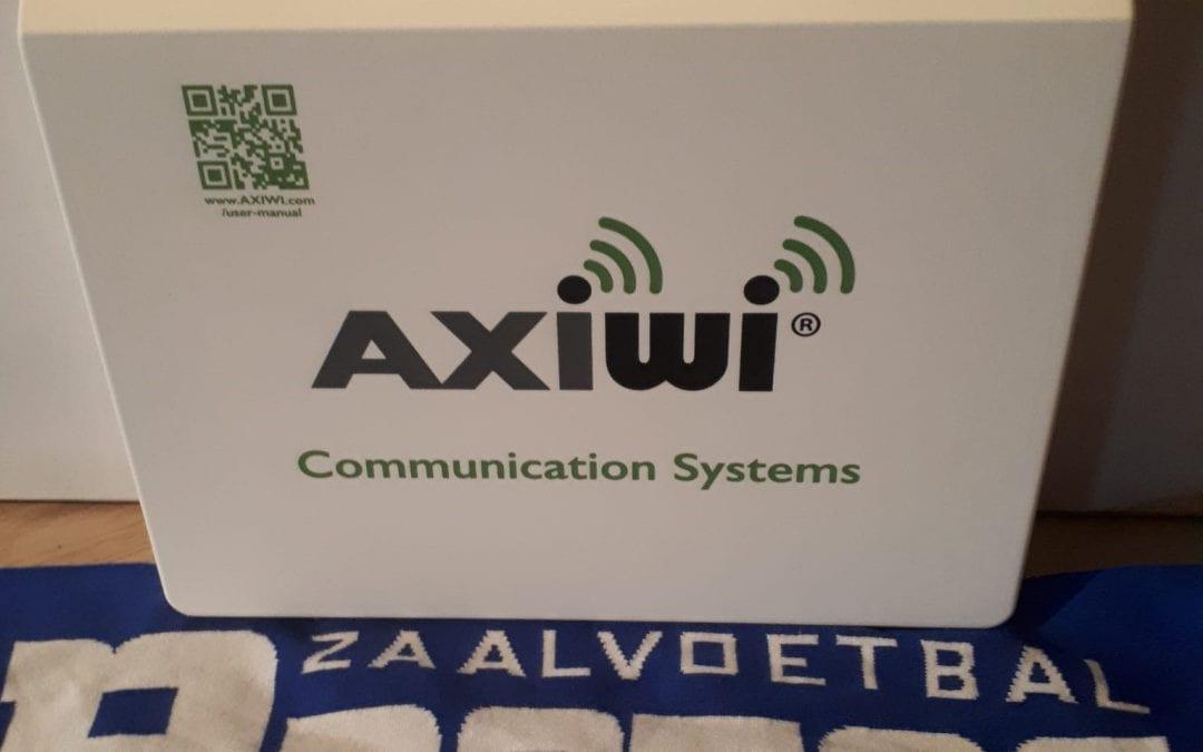 AXIWI Communicatiesystemen bij Protos Weering Zaalvoetbaltoernooi