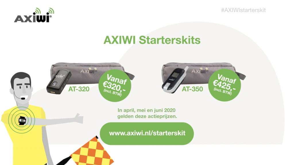 AXIWI lanceert Starterskits