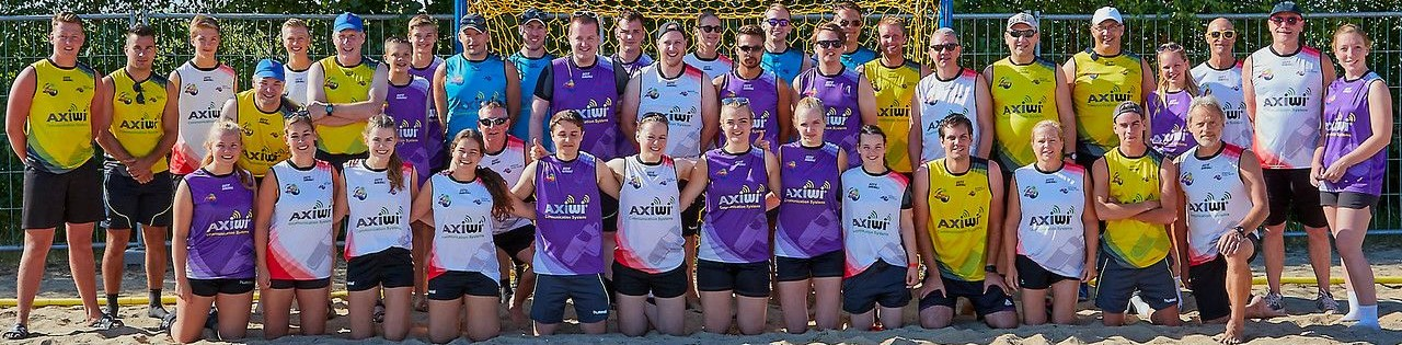 Nederlands beach handbal 2018 AXIWI Referee Academy