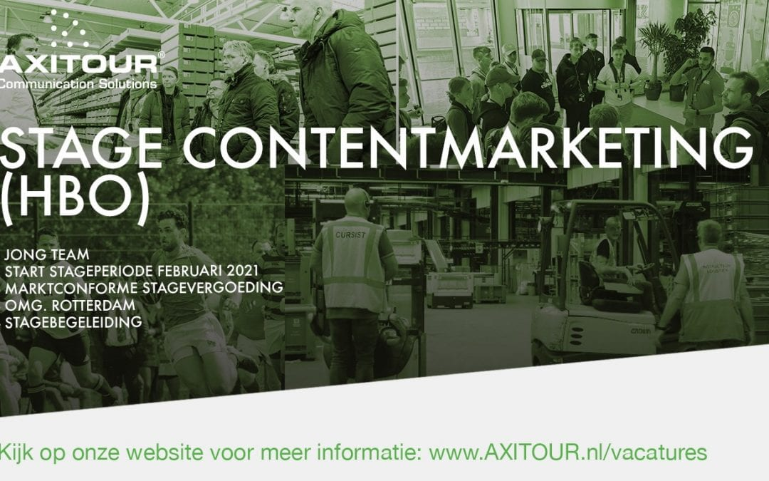 Stage Content Marketing